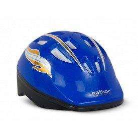 capacete azul