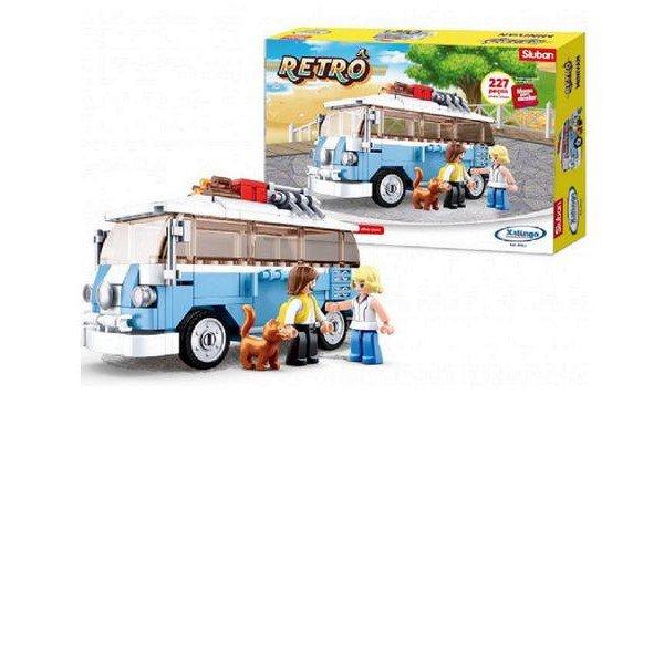 Blocos Retro Mini Van