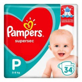 Pampers Supersec 34un p