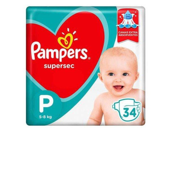 Pampers Supersec 34un p