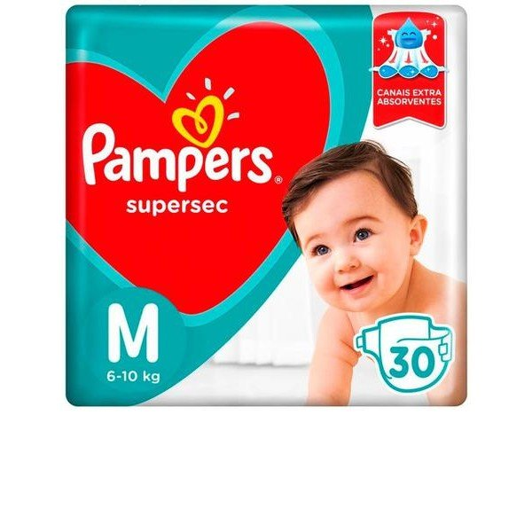 Pampers Supersec 30 M