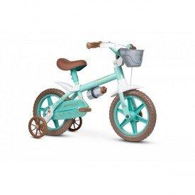bicicleta aro 12 anonella baby verde