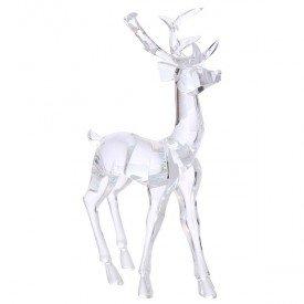 rmt8953 enfeite acrilico cervo em pe