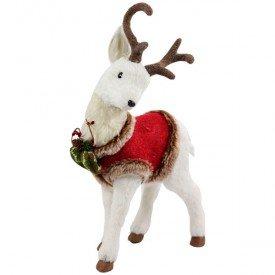 qy1349 enfeite natalino baby cervo pose com roupinha