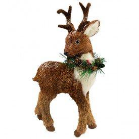 qy1333 enfeite natalino baby cervo